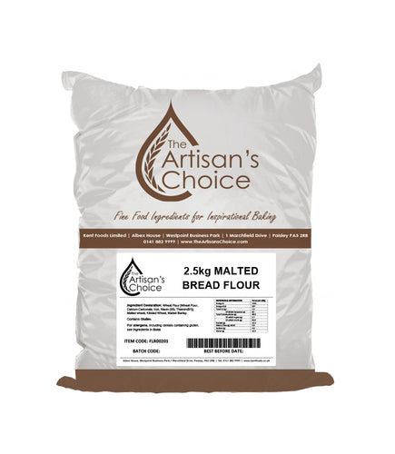 Artisan's Choice Malted Bread Flour 2.5kg