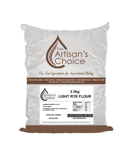 Artisan's Choice Light Rye Flour 2.5kg