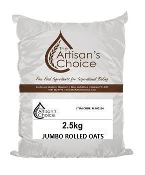 Artisan's Choice Jumbo Rolled Oats 2.5kg