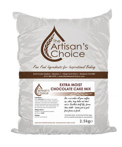 Artisan's Choice Extra Moist Chocolate Cake Mix 2.5kg