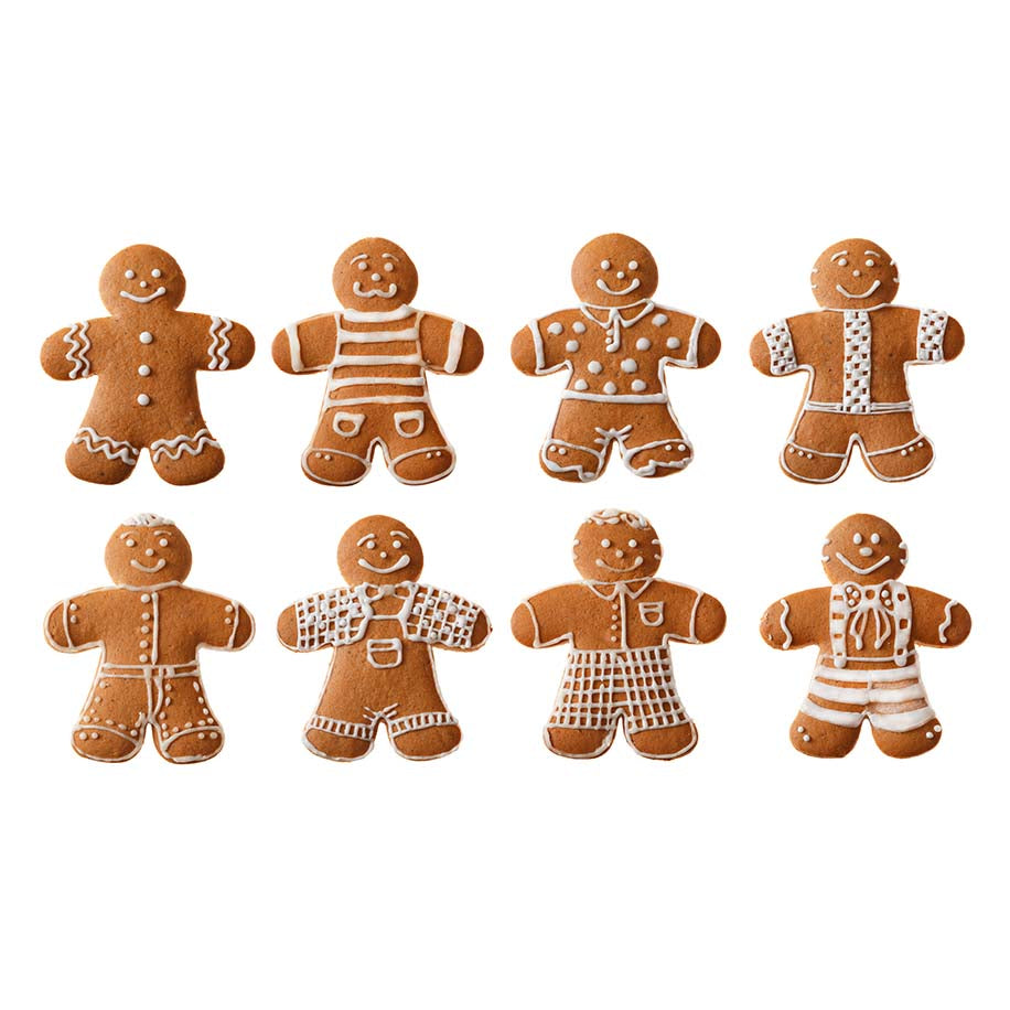 Gingerbread Men 105 Pack - The Artisan's Choice