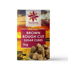 Load image into Gallery viewer, Rough Cut Brown Sugar Cubes 8x1kg - The Artisan's Choice