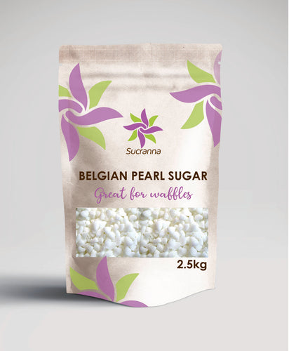 Sucranna Belgian Pearl Sugar 2.5kg - The Artisan's Choice