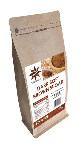 Sucranna Dark Soft Brown Sugar 1kg