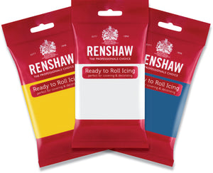 Renshaw Pro Icing 12x250g (Various Colours) - The Artisan's Choice