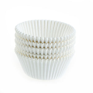 White Cupcake Cases 360 pack - The Artisan's Choice