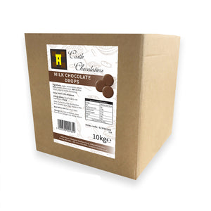 Continental Castle Chocolatiers (35%) Milk Chocolate Drops 10kg