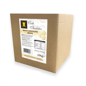 Continental Castle Chocolatiers (30%) White Chocolate Drops 10kg