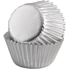 Silver Cupcake Cases 500pk - The Artisan's Choice