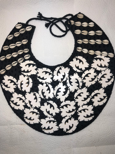 Cowry Gye-Nyame Necklace