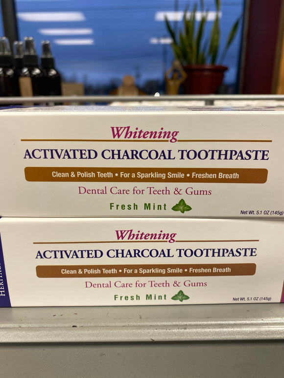 Whitening Activated Charcoal Toothpaste