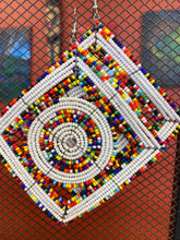 Load image into Gallery viewer, African Beaded Earrings