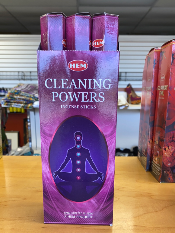 Cleaning Powers incense