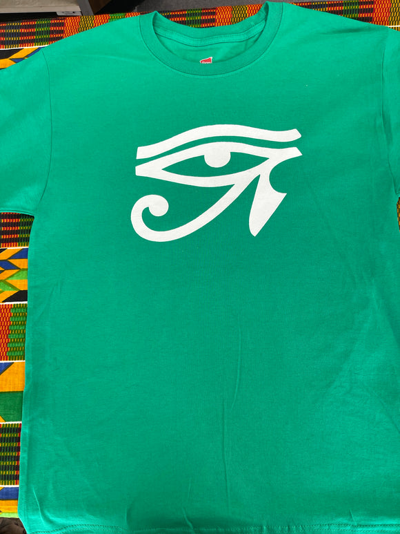 Eye of Ra T-shirt  Green