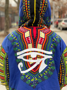 👁Eye Of Ra☀️ Dashiki Jacket (reversible)