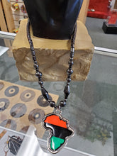 Load image into Gallery viewer, Hematite African Necklace