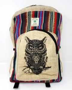 HEMP Owl Backpack