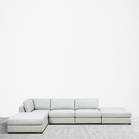 REED 5A Modular Deep Seating Sofa Sectional, 5-piece ***Back-Ordered. Available 1/2019***