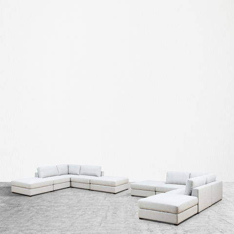 REED 10D Modular Deep Seating Sofa Sectional, 10-piece **Backorder - ETA 7/4/19**