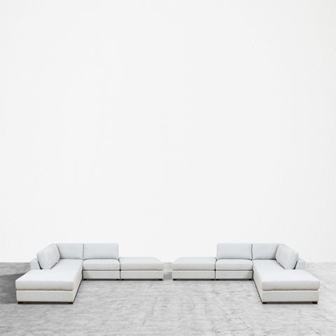 REED 10D Modular Deep Seating Sofa Sectional, 10-piece ***Back-Ordered. Available 1/2019***