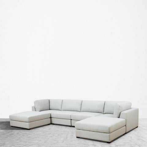 REED 6A Modular Deep Seating Sofa Sectional, 6-piece **SOLD OUT**