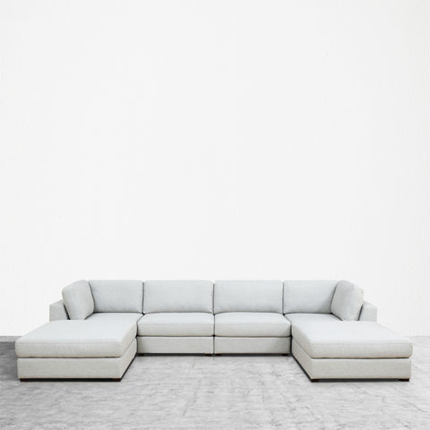 REED 6A Modular Deep Seating Sofa Sectional, 6-piece **Backorder - ETA 7/4/19**