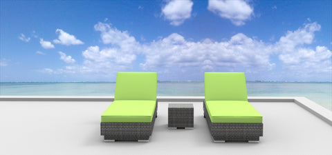 Boracay - 3pc Ultra Modern Wicker Patio Set