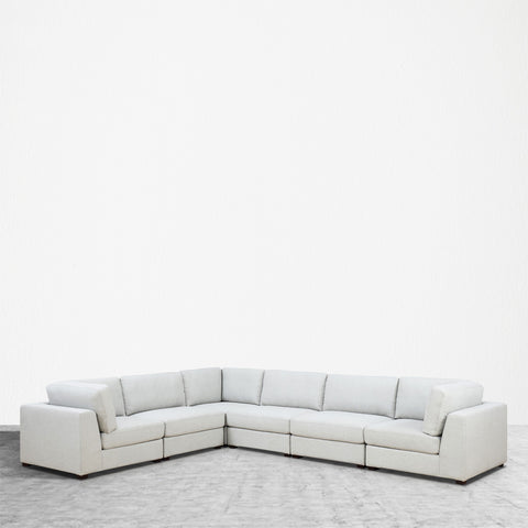 REED 6C Modular Deep Seating Sofa Sectional, 6-piece
