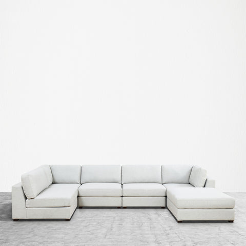 REED 6E Modular Deep Seating Sofa Sectional, 6-piece