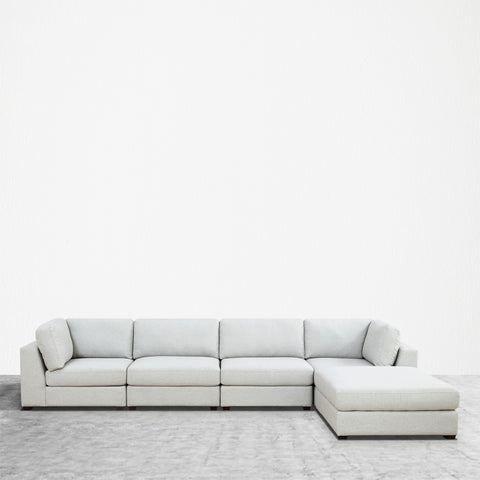 REED 5B Modular Deep Seating Sofa Sectional, 5-piece