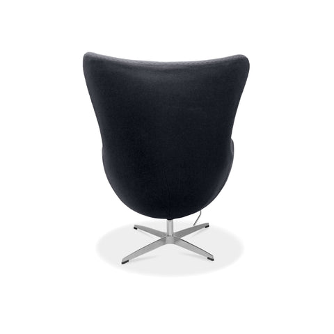 Arne Jacobsen Egg Chair Reproduction - Black