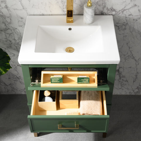 "Clara 24"" Single Bathroom Vanity Set - Vogue Green (SOLD OUT)"