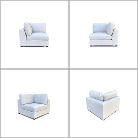 REED 6A Modular Deep Seating Sofa Sectional, 6-piece