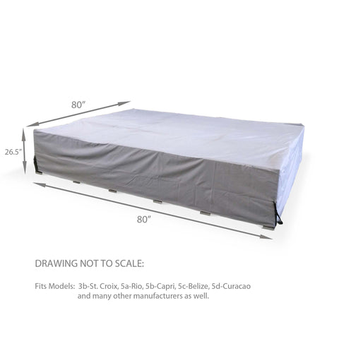 Furniture Cover - Small (6.8ft x 6.8ft x 2.3ft)