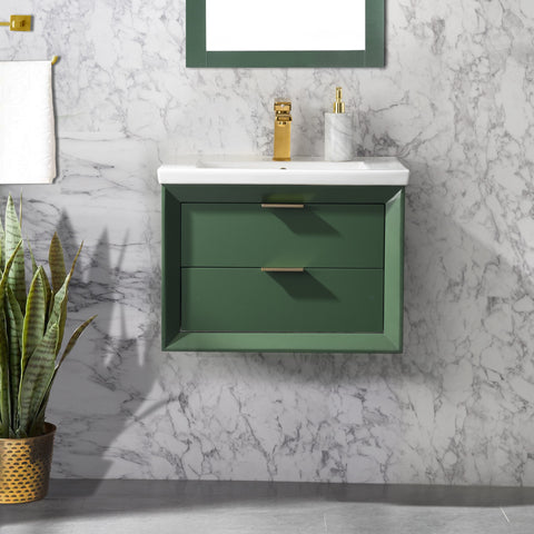 "Danbury 24"" Single Bathroom Vanity Set - Vogue Green"