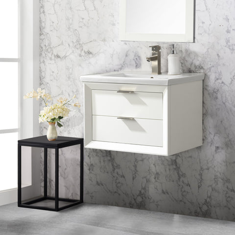 "Danbury 24"" Single Bathroom Vanity Set - White (SOLD OUT)"