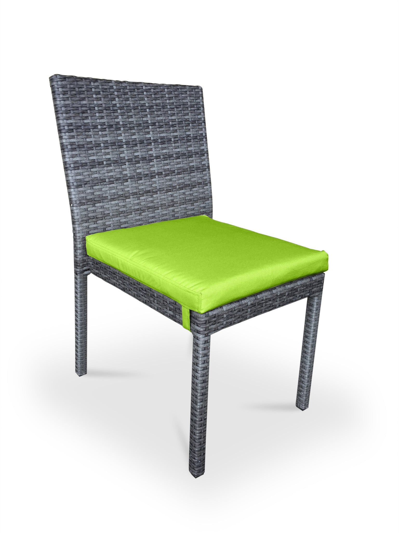 lime green patio furniture. 9 Piece Wicker Outdoor Patio Dining Set - Gray / Lime Green Furniture I