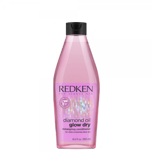 Redken Diamond Oil Glow Dry Gloss Hoitoaine 250ml, - REDKEN