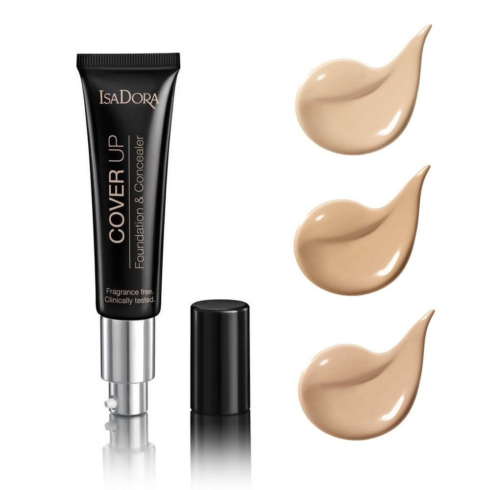 IsaDora Cover Up Foundation & Concealer, - ISADORA