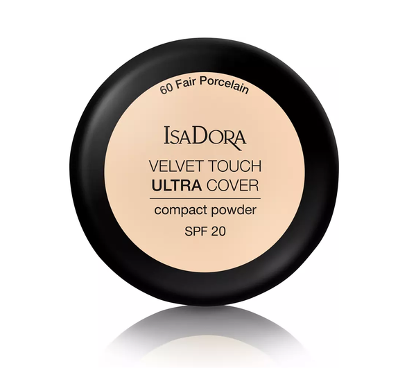 IsaDora Velvet Touch Ultra Cover Puuteri, - ISADORA