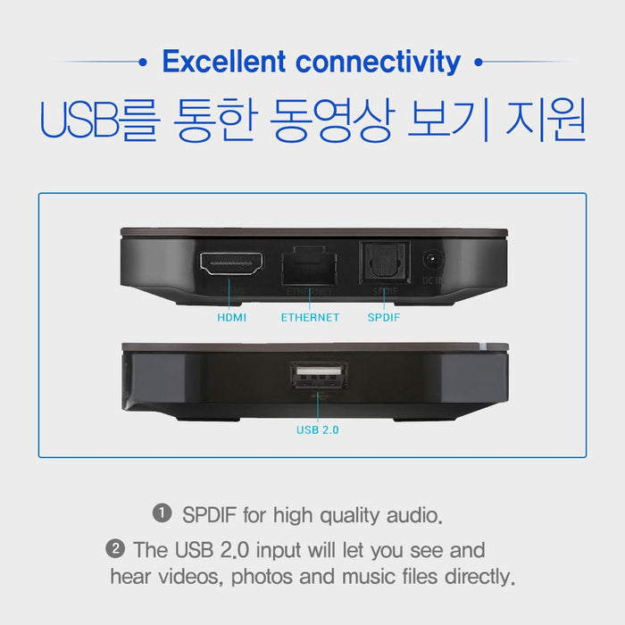 OnDemandKorea H3 Streaming Media Player
