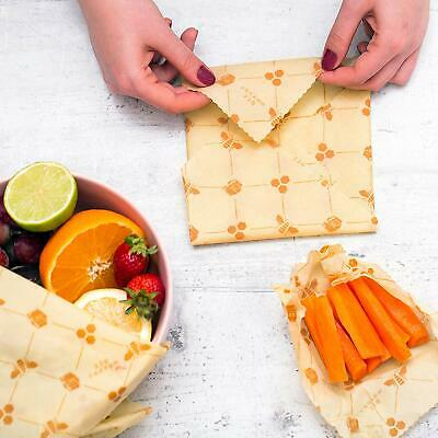 sustainable reusable eco friendly beeswax food wrap roll