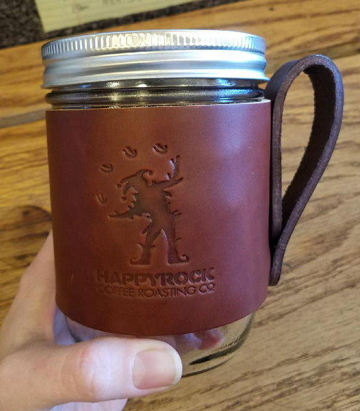 Happyrock Coffee Leather Mug Hugger