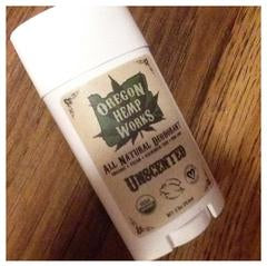Oregon Hemp Works Deodorant - Unscented