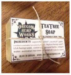 Oregon Hemp Works Soap - Tea Tree