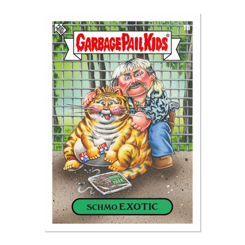 Joe Exotic Garbage Pail Kids Cards LIMITED EDITION