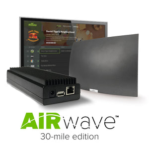AirWave Wireless HDTV Network Streaming Device