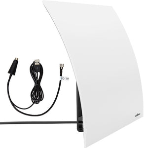 Flow Plus 60-Mile Range Designer Indoor Amplified HDTV Antenna