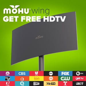 Wing 75-Mile Attic / Outdoor HDTV Antenna