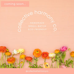 coming soon: collective harmony co rebrand